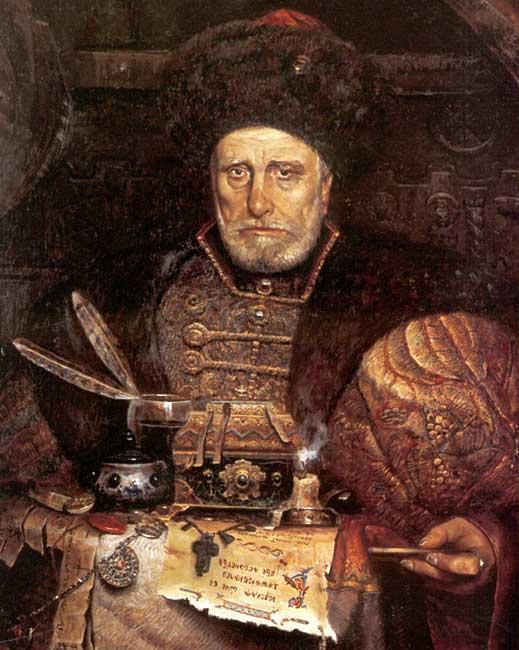 Князь Андрей Михайлович Курбский (1528 — май 1583) — русский полководец, политик и писатель, ближайший приближённый Ивана Грозного.