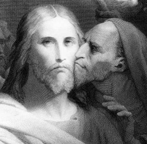 Иу́да Искарио́т (ивр. יהודה איש קריות, ʾîš-qərijjôt), в христианстве Иуда сын Симона — один из апостолов Иисуса Христа, предавший его.