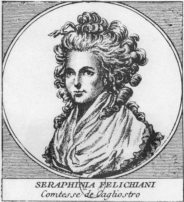 Лоренца (Серфима), супруга Калиостро. Его напарница в аферах