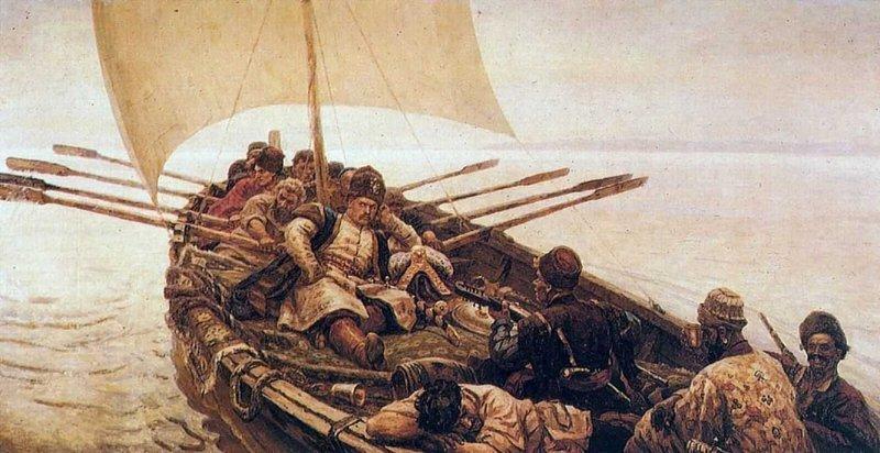 Степан Разин. Картина Василия Сурикова. 1903–1907 годы