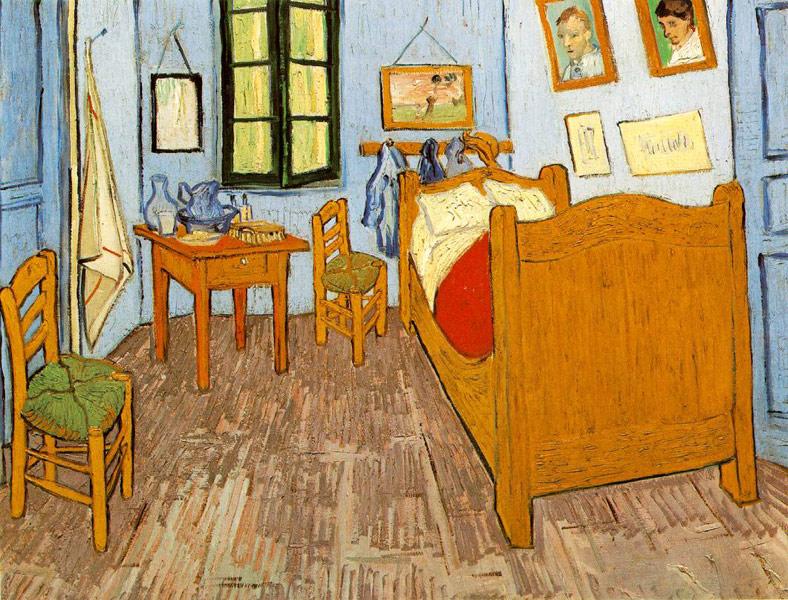 Спальня Ван Гога в Арле. Арль, 1889. Холст, масло, 57х74.
