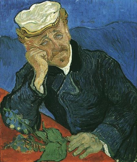Винсент Ван Гог. Портрет доктора Гаше. Овер, июнь 1890