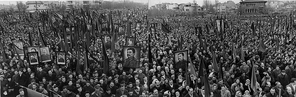 Похороны Сталина на десятилетия вперед задали канон общенародной скорби